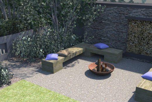 A coastal-inspired garden in Cornwall