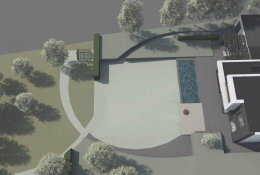 A subtle, minimalist garden in Cornwall