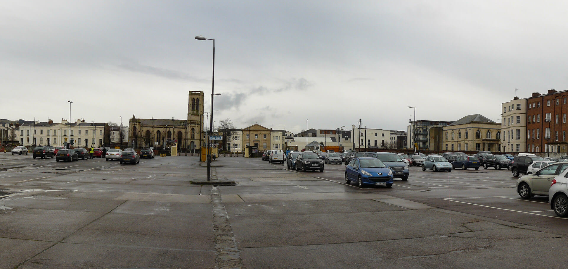 A thriving urban transport hub in Cheltenham